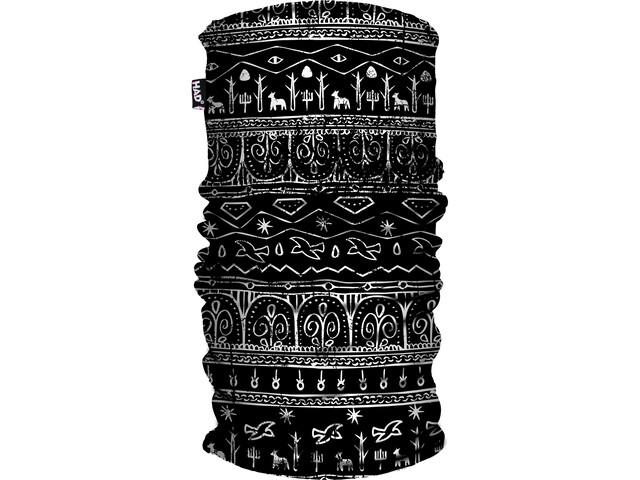 HAD Printed Fleece Halsbeklædning sort (2019) | Jakker